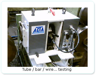 Tube / bar / wire... testing